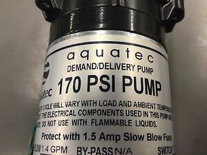 Carpet Cleaning Aquatec 170 Psi Extractor Pump