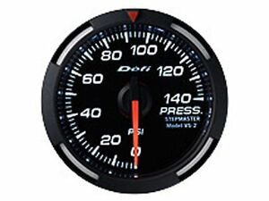 Defi Df06603 Racer Fuel oil Pressure Gauge White 52mm