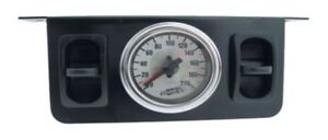 Air Lift 26229 Paddle Switch Gauge Panel W 200 Psi Dual Needle Gauge