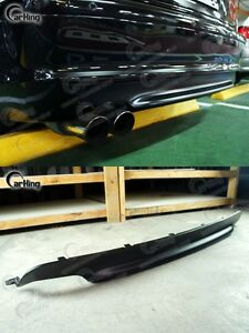 Carking 99 To 06 Matte Black Bmw 3 Series E46 M tech Ii Rear Diffuser