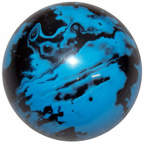 Marbled Black And Blue Shift Knob M6x1 00 Thread Size U S Made