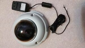Axis 225fd Fixed Dome Poe Day night Ip Network Camera With Ps k Power Adapter