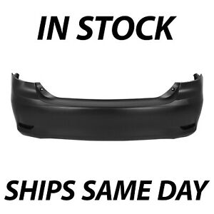 New Primered Rear Bumper Cover For 2011 2013 Toyota Corolla 5215902977 To1100287