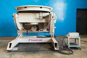 Ransome Welding Positioner 20 000 Lbs 6975
