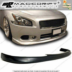 Made For 09 14 Nissan Maxima Sedan 7gen Mdp Front Bumper Lip Chin Spoiler Jdm