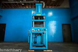 Chromalloy Hydraulic 4 Post Press 25 Ton 7015