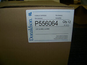 Donaldson Hydraulic Cartridge Filter p556064 Cat 4j 6064 4j 0806 Case Of 12