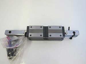 2 280mm Linear Rails With 4 Thk Hsr20 Lm Guides