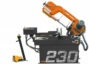 Kaast Hbs 230 Dg 9 Horizontal Band Saw Double miter Bandsaw New warranty