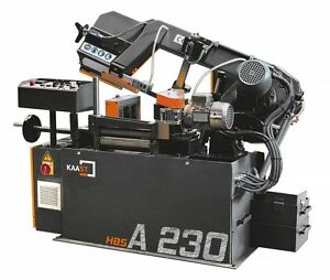 Kaast Hbs A 230 9 Horizontal Band Saw Fully Automatic Bandsaw New warranty