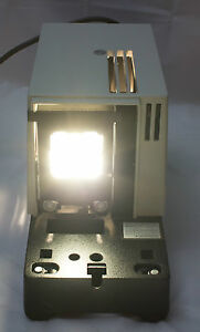 Leitz Microscope 250w Halogen Illuminator Heat Block Ir Cut Filter Collector