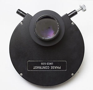 Olympus Phase Contrast Condenser Lwcd 0 55 Imt2 Imt 2 Microscope