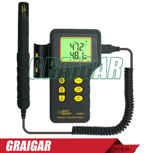 New Ar847 Humidity And Temperature Meter 5 rh 98 rh Humidity Measuring Range
