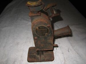 Antique Walker No 1 Badger Car Truck Jack Walker Mfg Co Racine Wisconsin