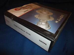 Grove Manitowoc Rt650e Crane Parts Catalog Book Manual