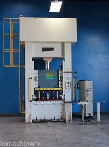 Sutherland Hydraulic Straight Side Punch Press 100 Ton X 47 X 39 5141