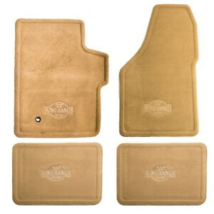 Oem New Front Rear Carpet Floor Mats Pebble Tan Super Duty 5c3z 1613300 Aaa