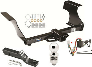 Complete Trailer Hitch Package W Wiring Kit Fits 2009 2013 Subaru Forester New