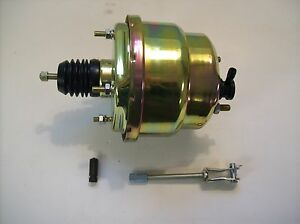 7 Dual Diaphragm Power Brake Booster Hot Rod Street Rod Rat Rod New