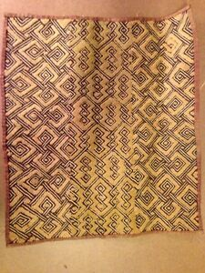 Original Kuba Cloth Africa 18 5x16 5