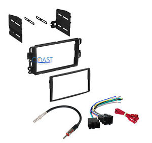 Double Din Car Stereo Dash Kit Harness Antenna For Buick Chevy Gmc Saturn 2006 u