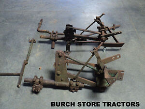 John Deere 1010 Tractors Front Cultivator Mounts With Lift Bars