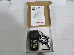 Magtek 30050400 Pin entry Device W secure Card Reader Authenticator 25431