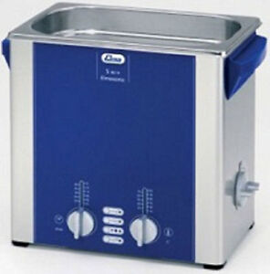 Elma Elmasonic S40h 4 25 Liter Heated Ultrasonic Cleaner And Basket New