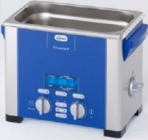 Elma Elmasonic P30h 2 75 Liter Heated Digital Ultrasonic Cleaner And Basket New