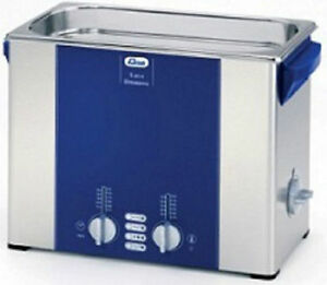 Elma Elmasonic S60h 5 75 Liter Heated Ultrasonic Cleaner And Basket New
