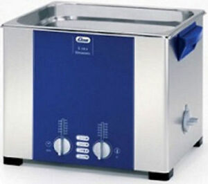 Elma Elmasonic S100h 9 5 Liter Heated Ultrasonic Cleaner And Basket New