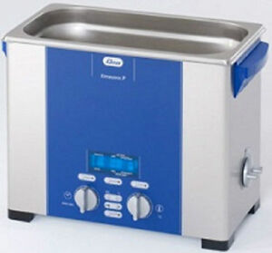 Elma Elmasonic P60h 5 75 Liter Heated Digital Ultrasonic Cleaner And Basket New