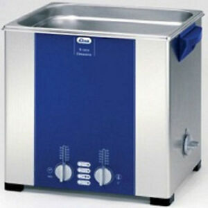 Elma Elmasonic S120h 12 75 Liter Heated Ultrasonic Cleaner And Basket New