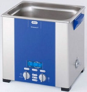 Elma Elmasonic P120h 12 75 Liter Heated Ultrasonic Cleaner And Basket New