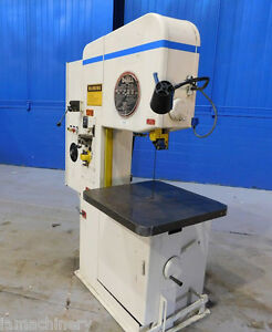 20 Throat Doall Vertical Bandsaw Mdl 2013 20 2hp Metal Cutting