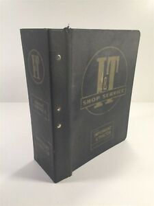 Vintage Implement Tractor Shop Service Manual Roller lok Binder With Dividers