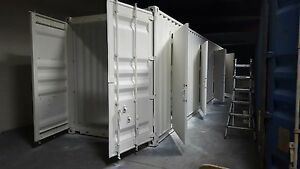 40 Ft Achi 4 Units Storage Container 320 Sqft Brand New Made In Usa
