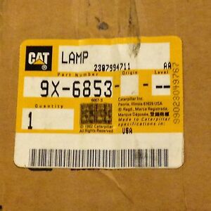Oem Caterpillar Lamp Group Fits Caterpillar 9x 6853