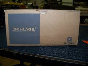 Schlage Storeroom Lockset Interchangeable Core Satin Chrome