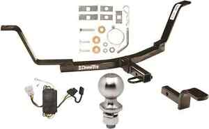 Complete Trailer Hitch Package W Wiring Kit Fits 2007 2011 Honda Cr v Brand New