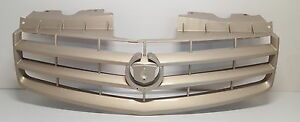 New Oem Grille Fits 2003 2004 2005 2006 2007 Cadillac Cts Gold Tan 15279129