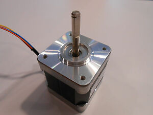 New Nema 17 Stepper Motor 76oz in W flat Cnc Robot Reprap Makerbot Arduino 11v