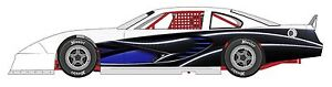 Race Car Wrap Graphics Decals Imca Late Model Dirt 7