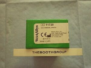 Welch Allyn 3 5v Coaxial Ophthalmoscope 11720 New