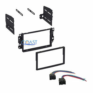 Single Double Din Car Stereo Dash Kit With Harness For 2007 2011 Chevrolet Aveo