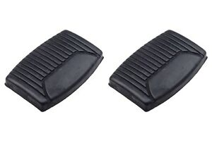 Ford F150 F250 Manual Clutch Pedal Brake Pad Black Rubber Covers Oem C8tz2454aa