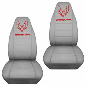 Fits 67 02 Pontiac Firebird Car Seat Covers With Design Design Your Own