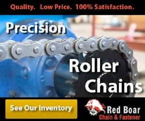 C2040 Roller Conveyor Chain 100ft Roll New From Factory Extended Pitch 1