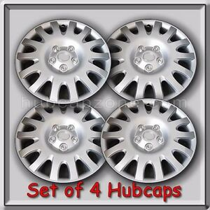Set Of 4 16 Silver Toyota Camry Hubcaps 2002 2006 Replica Camry Wheel Covers