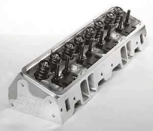 Afr Sbc 235cc Competition Cnc Ported Cylinder Heads Titanium Retainers 1130 Ti